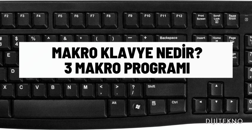 makro klavye nedir