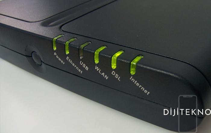 modem dsl isigi yanmiyor