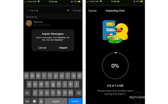 Whatsapp'tan Telegram'a Sohbet Geçmişi Aktarma