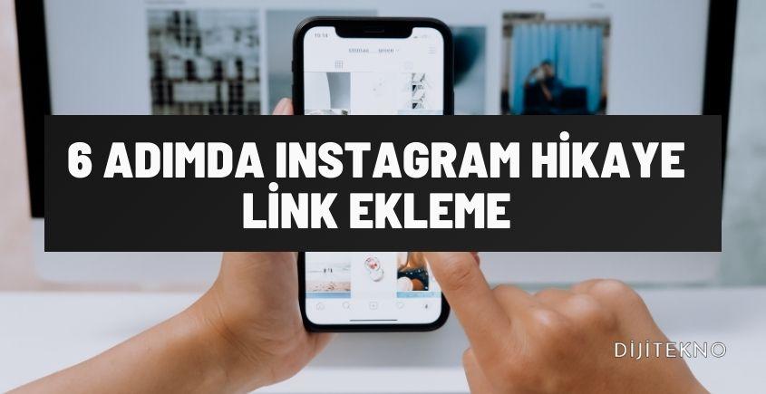 instagram hikaye link ekleme